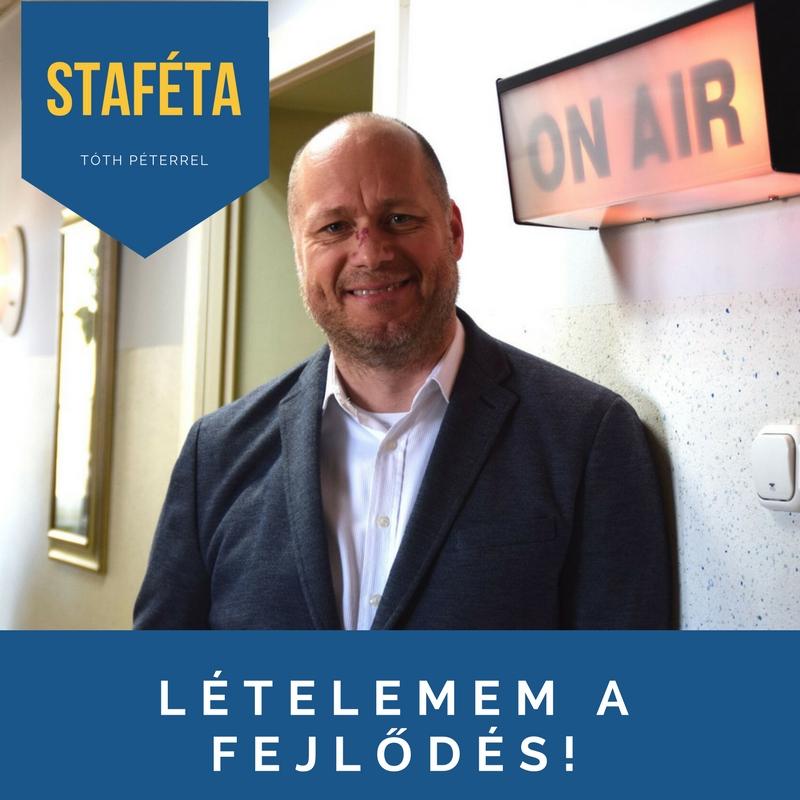 """""""...valami megfoghatatlan...sosem hagyja, hogy eltávolodjak a rádiózástól"""" - Staféta Tóth Péterrel"""