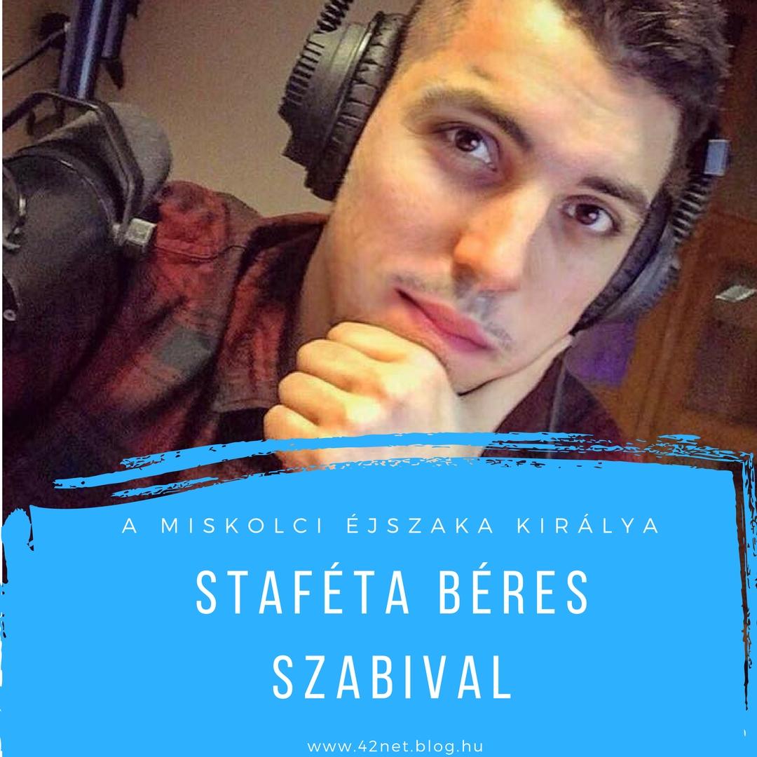 """""""...a legjobban azt élvezem, amikor nem egyedül vagyok a stúdióban"""" - Staféta Béres Szabolccsal"""