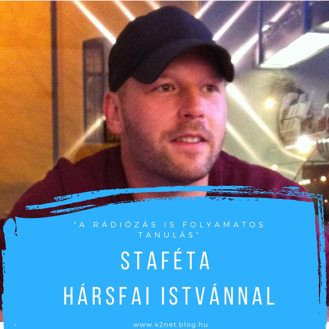 """""""Nagyon sok minden jött ösztönből"""" - Staféta Hársfai Istvánnal"""
