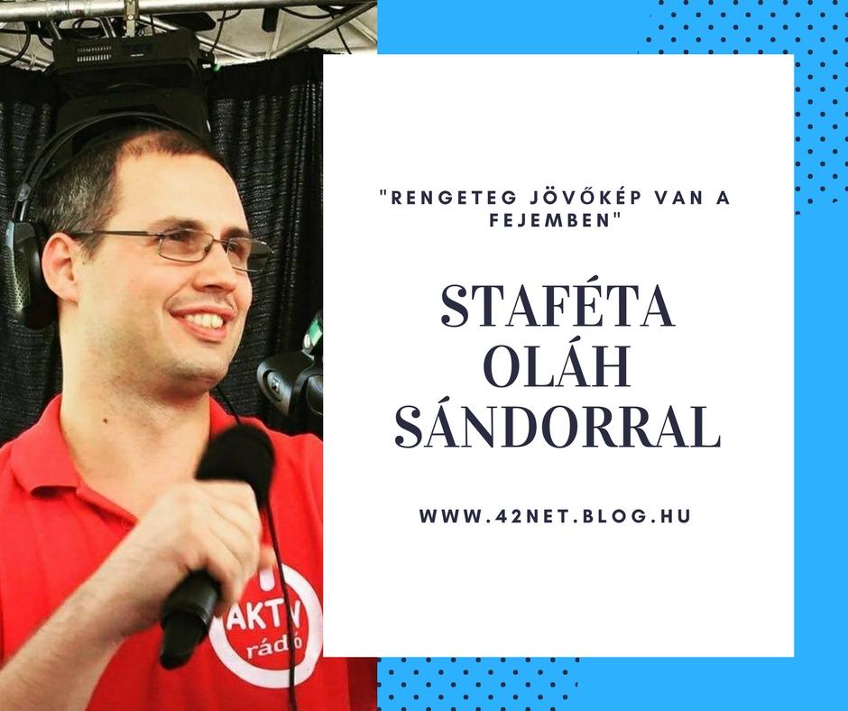 """""""Amikor utoljára hagyom el a stúdiót, akkor mindig visszanézek az ajtóból"""" - Staféta Oláh Sándorral"""