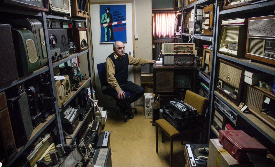 Belehallgatni a történelembe - Magyarország legnagyobb rádiógyűjteménye