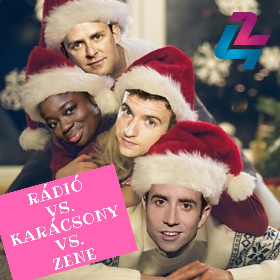 Hogyan jelenik meg a karácsony az egyik legmenőbb rádió playlistjében?