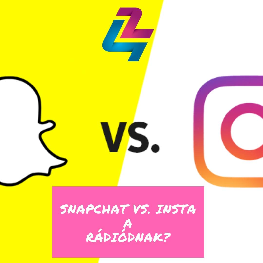 Instagram-ot vagy Snapchat-et építsek a rádiómnak?
