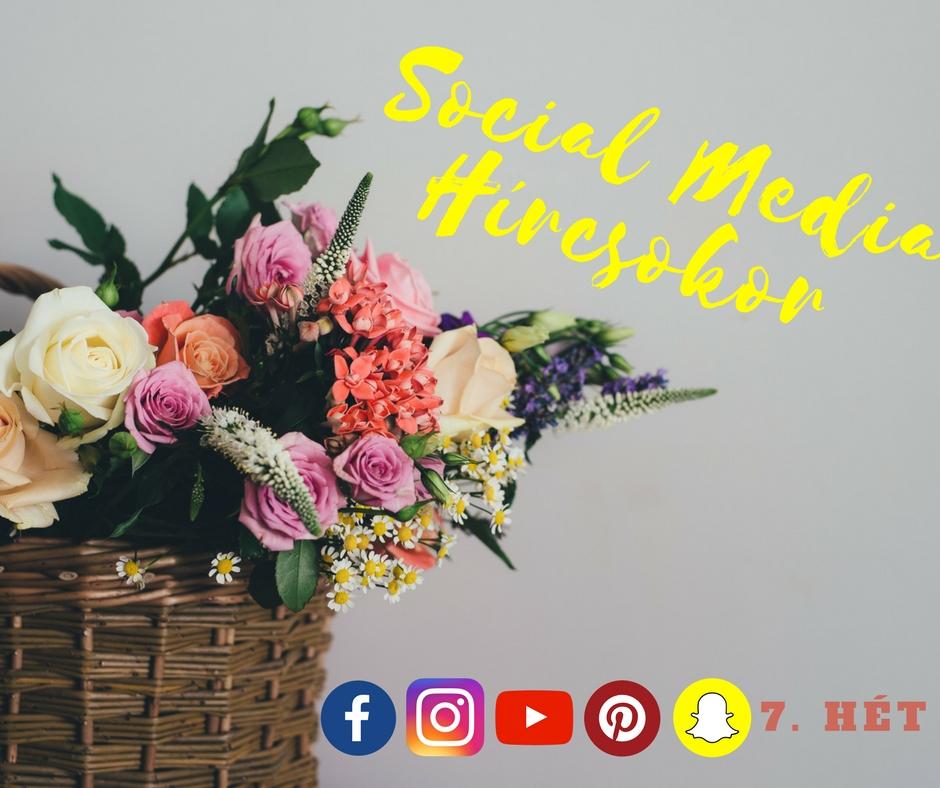 Mi történt az elmúlt héten a közösségi médiában? Itt a Social Media Hírcsokor!