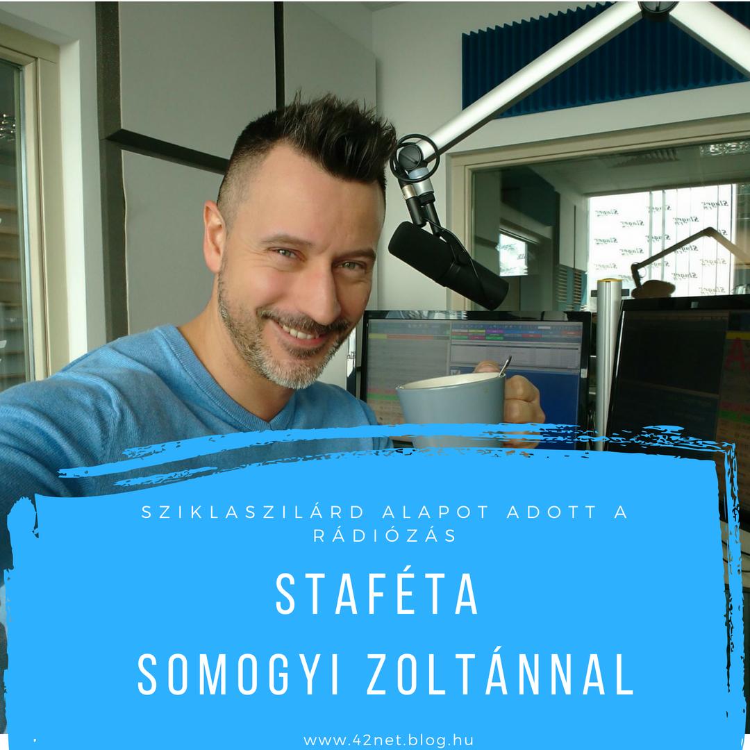 """""""Nem álmokat kergetek, hanem kihívásokat keresek"""" - Staféta Somogyi Zoltánnal"""