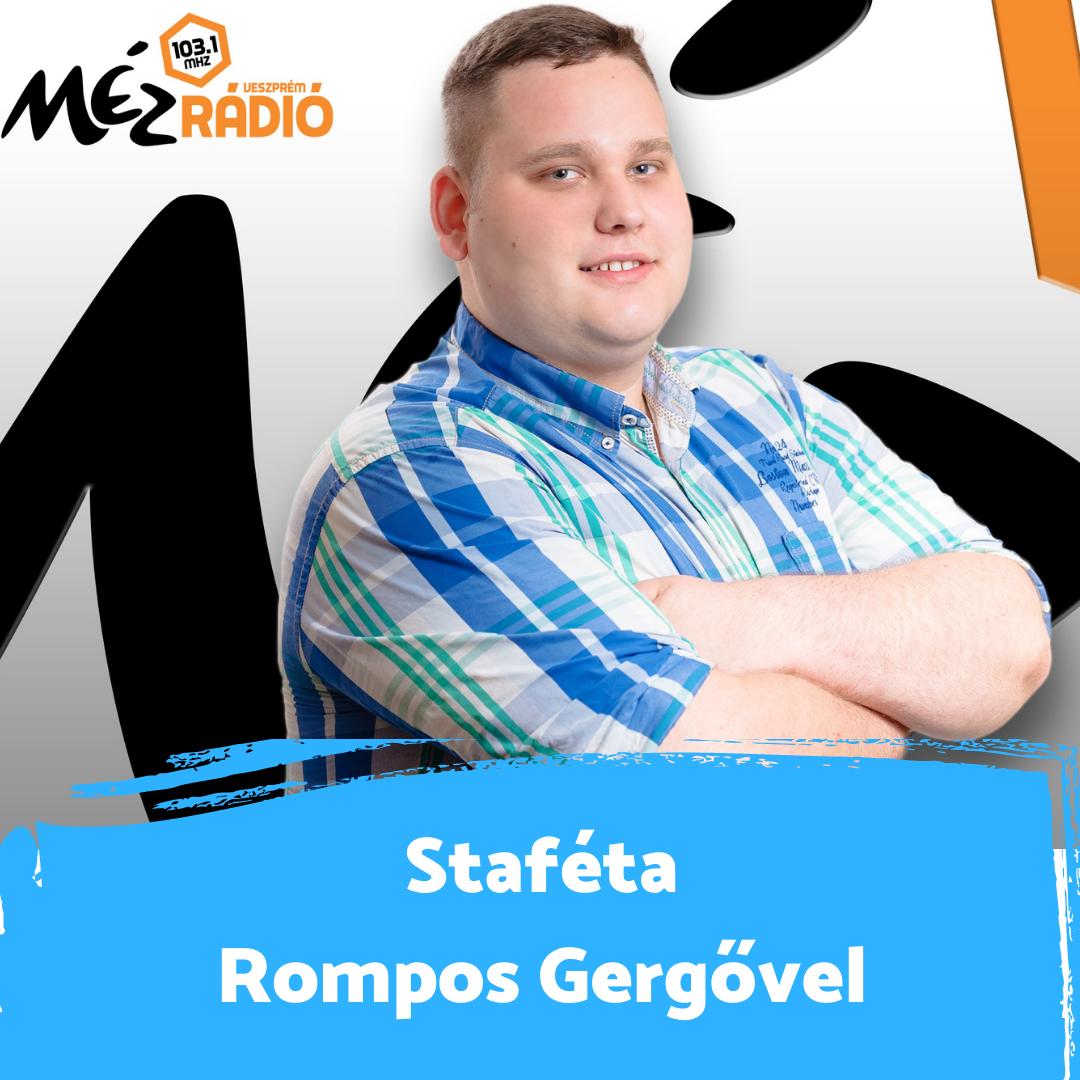 """""""Azt csinálhatom ami gyerekkoromban is már az álmom volt"""" - Staféta Rompos Gergővel"""
