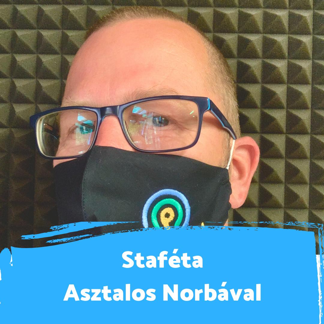 """""""Új dimenziókat nyitott meg az életemben a rádiózás"""" - Staféta Asztalos Norberttel"""