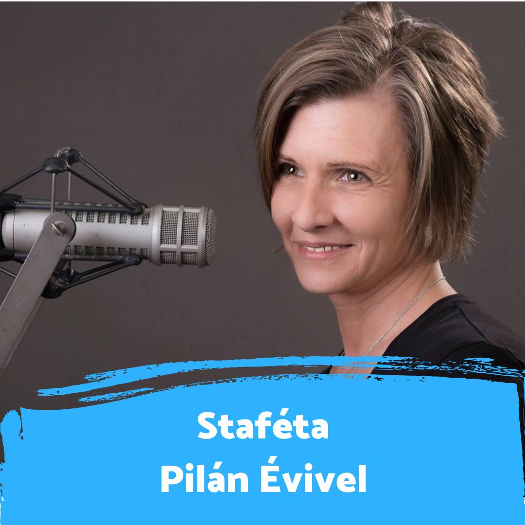 """""""A rádiózásban találtam meg azt, aki vagyok"""" - Staféta Pilán Évivel"""