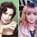 20. századi sztárok, öszehasonlitva azonos korú mostani sztárokkal.