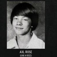 Hires rocksztárok évkönyvfotói.