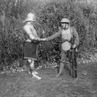 Páncélos katonák az első világháborúban