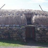 Fekete házak a Skót Felföldön