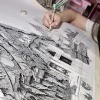 Lenyűgöző építészeti ceruzarajzok.