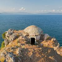 Betonbunkerek Albániában