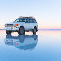 Salar de Uyuni, a világ legnagyobb sómezeje