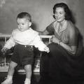 Szép képek Ingrid Bergmanról és gyermekeiről