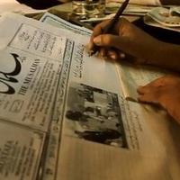 Az utolsó kézzel írt újság