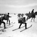 Síjöring lovakkal Norvégiában, 1900-as évek