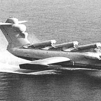 A Lun ekranoplan MD-160.