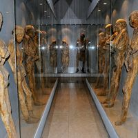 Múmiamúzeum a mexikói Guanajuato városban.