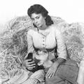 Sophia Loren és Anthony Perkins a