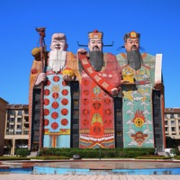 Tianzi Hotel, a világ legnagyobb szoborépülete