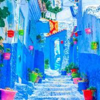 Chefchaouen, a kék város