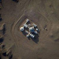 Megnyílt Mars-bázis a Góbi-sivatag közepén.