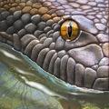 A Titanoboa, a valaha felfedezett legnagyobb kígyó.