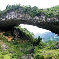 Tündérhíd, vagy Xianren híd, Kínában