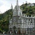 A Las Lajas bazilika, a világ egyik legszebb temploma.