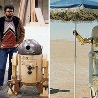 Érdekes képek, híres filmek forgatásáról.