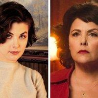 Az 1990-es évek televíziós színésznői akkor és most.