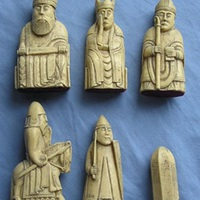 A lewisi sakkfigurák.