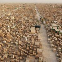 Wadi Al-Salaam a legnagyobb temető a világon.