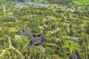 Amatciems, ahol a lakók összhangban élnek a természettel.
