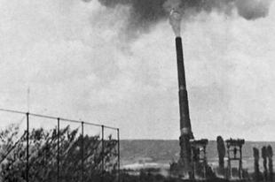 Schwerer Gustav német vasúti ostromfegyver.