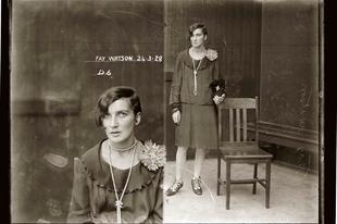 Bűnözők a 20-as évekből, akik mintha divatlapból léptek volna elő.
