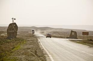 A qobustani sziklarajzok, Azerbajdzsánban.
