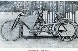 Egyedi járművek az 1900-as évek elejéről.