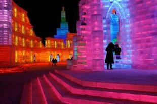 Harbin nemzetközi jég és hó szobrász fesztivál 2019.