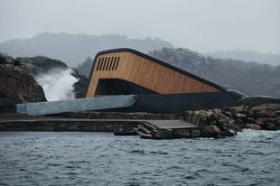 Norvégiában megnyílt Európa első vízalatti étterme