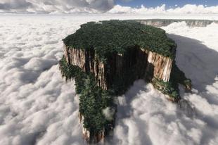 A tepuik, a Föld legbizarrabb hegyei.