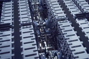 LEGO-ból épített Bugatti Chiron