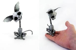 Állat szobrok steampunk stílusban