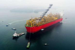 A Prelude FLNG a legnagyobb hajó, amit valaha építettek.
