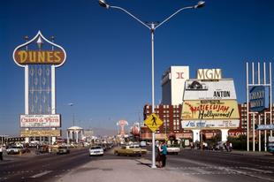Las Vegas az 1980-as években.