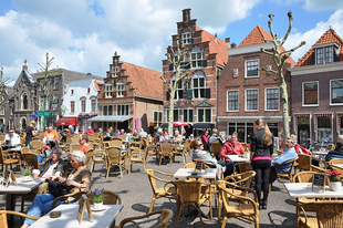 Boszorkánymérleg a holland Oudewater városában.