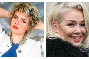 A '80-as évek pop csillagai akkor és most.