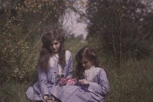 A legrégebbi ismert színes fényképek